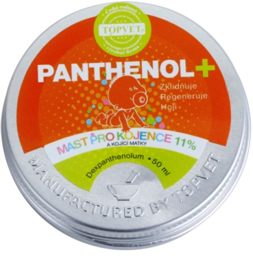 Topvet Panthenol + Unguent pentru copii si femeile care alapteaza