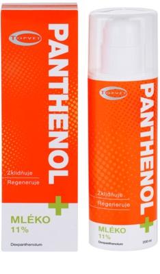 Topvet Panthenol + beruhigende Hautmilch 1