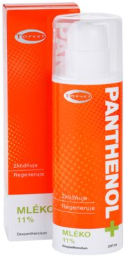 Topvet Panthenol + upokojujúce telové mlieko 2