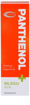 Topvet Panthenol + beruhigende Hautmilch 3