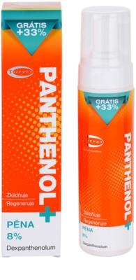 Topvet Panthenol + mousse corporal apaziguadora pós-solar 1