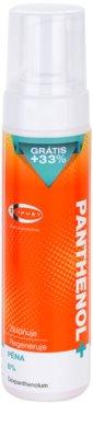 Topvet Panthenol + pomirjajoča pena za telo po sončenju