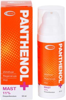 Topvet Panthenol + pomirjajoče mazilo za obraz 1