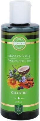 Topvet Professional Bio aceite para masaje celustin