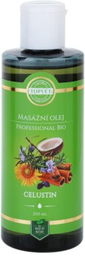 Topvet Professional Bio óleo de massagem celustin