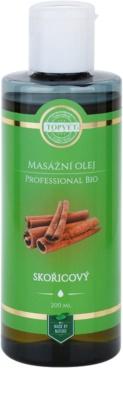 Topvet Professional Bio masážny olej škorica