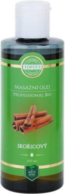 Topvet Professional Bio Massageöl Zimt