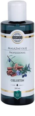 Topvet Professional aceite para masaje celustin