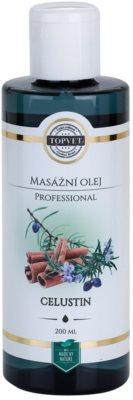 Topvet Professional masážny olej celustin