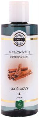 Topvet Professional masažno olje cimet