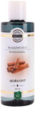 Topvet Professional óleo de massagem canela