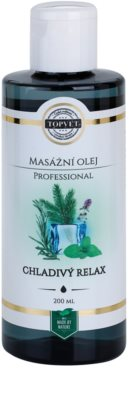 Topvet Professional masažno olje - hladilna sprostitev