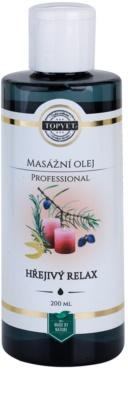 Topvet Professional masážní olej - hřejivý relax