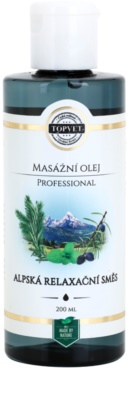 Topvet Professional relaxačný masážny olej