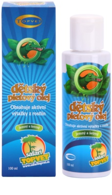 Topvet Safari pflegendes Öl für Kinder 1