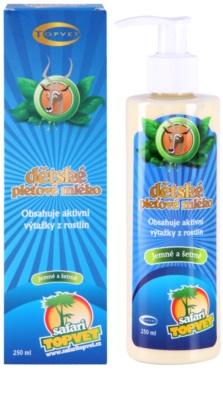 Topvet Safari Körpermilch für Kinder 1