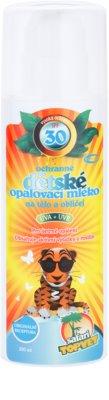 Topvet Safari leite solar para crianças SPF 30