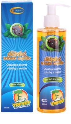 Topvet Safari sabonete suave para crianças 1