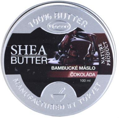 Topvet Shea Butter shea vaj csokoládéval