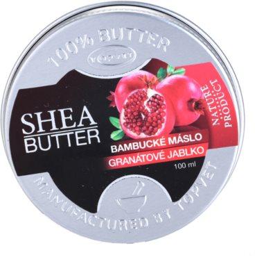 Topvet Shea Butter bambucké máslo s granátovým jablkem