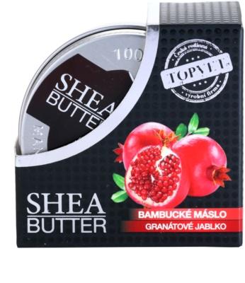 Topvet Shea Butter bambucké maslo s granátovým jablkom 3