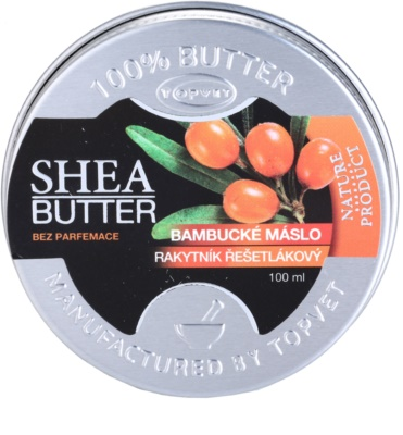 Topvet Shea Butter shea vaj ezüsttövissel parfümmentes