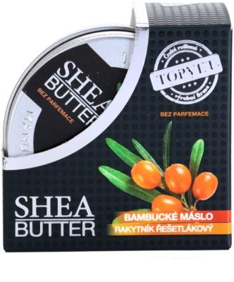 Topvet Shea Butter manteca de karité con espino amarillo sin perfume 3