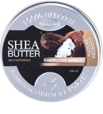 Topvet Shea Butter бамбуково масло без парфюм