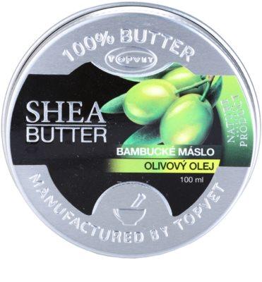 Topvet Shea Butter bambucké maslo s olivovým olejom
