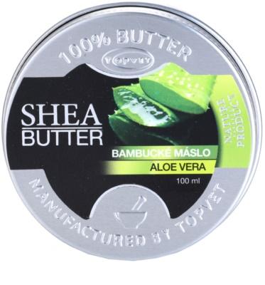 Topvet Shea Butter бамбуково масло с алое вера