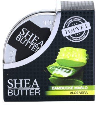 Topvet Shea Butter karitejevo maslo z aloe vero 3