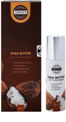 Topvet Shea Butter crema hidratante nutritiva con manteca de karité 1