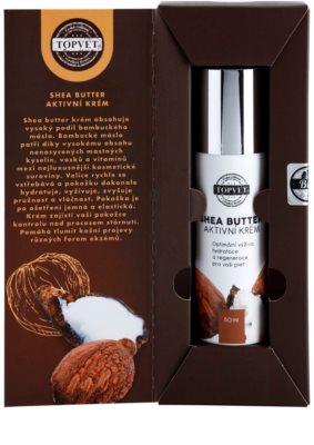 Topvet Shea Butter crema hidratante nutritiva con manteca de karité 2