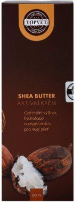 Topvet Shea Butter nährende Feuchtigkeit spendende Creme mit Bambus Butter 3
