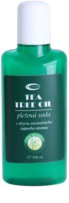 Topvet Tea Tree Oil bőrtisztító víz problémás és pattanásos bőrre
