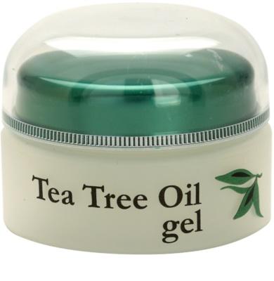 Topvet Tea Tree Oil gél problémás és pattanásos bőrre