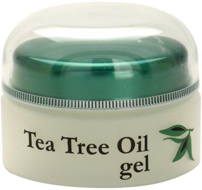 Topvet Tea Tree Oil gel za problematično kožo, akne