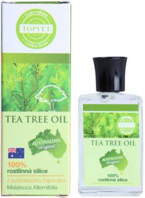 Topvet Tea Tree Oil 100% ätherisches Öl 1