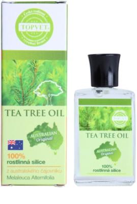 Topvet Tea Tree Oil 100% olaj 1
