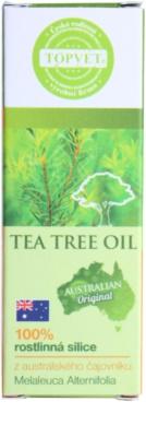 Topvet Tea Tree Oil 100% ätherisches Öl 3