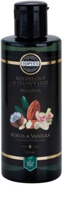 Topvet Wellness fürdő és testápoló olaj
