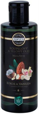 Topvet Wellness olej do kúpeľa a na telo