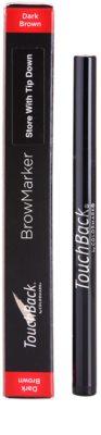 TouchBack BrowMarker flomaster za ličenje obrvi 2