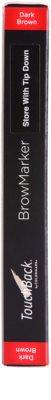 TouchBack BrowMarker flomaster za ličenje obrvi 3
