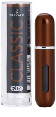 Travalo Classic HD napełnialny flakon z atomizerem unisex   Silver