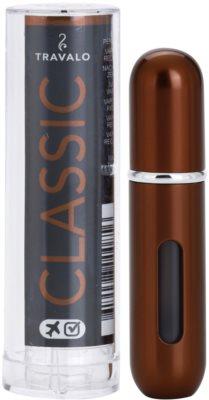 Travalo Classic HD vaporizador de perfume recargable unisex   Silver