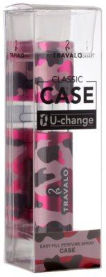 Travalo Classic Case Kunststoffhülle für nachfüllbaren Flakon  unisex    Camouflage Pink 1