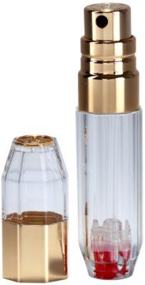 Travalo Crystal Gold plnitelný rozprašovač parfémů unisex 3