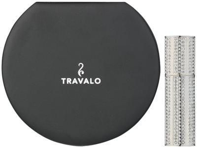Travalo Divine szórófejes parfüm utántöltő palack unisex   Silver