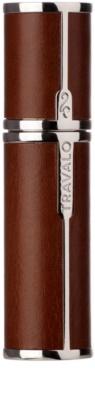 Travalo Milano Case U-change kovový obal na plnitelný rozprašovač parfémů unisex    Brown